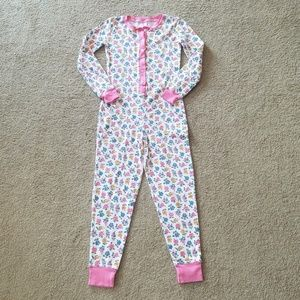 Mini Boden Floral Cosy All-in-one Pajamas